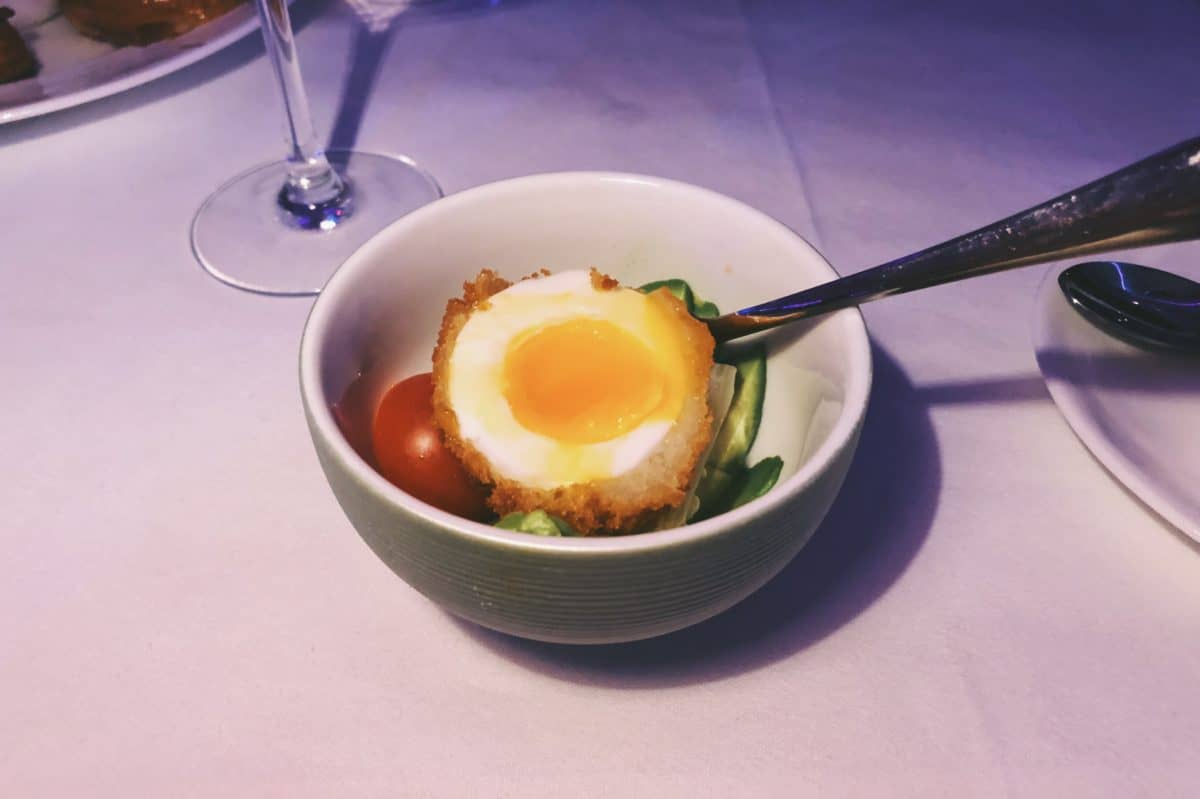 Scotch egg at sketch London