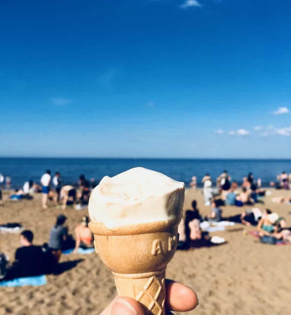 Portobello Beach in Edinburgh - Non-touristy Edinburgh: 7 off-beaten path spots that are a must
