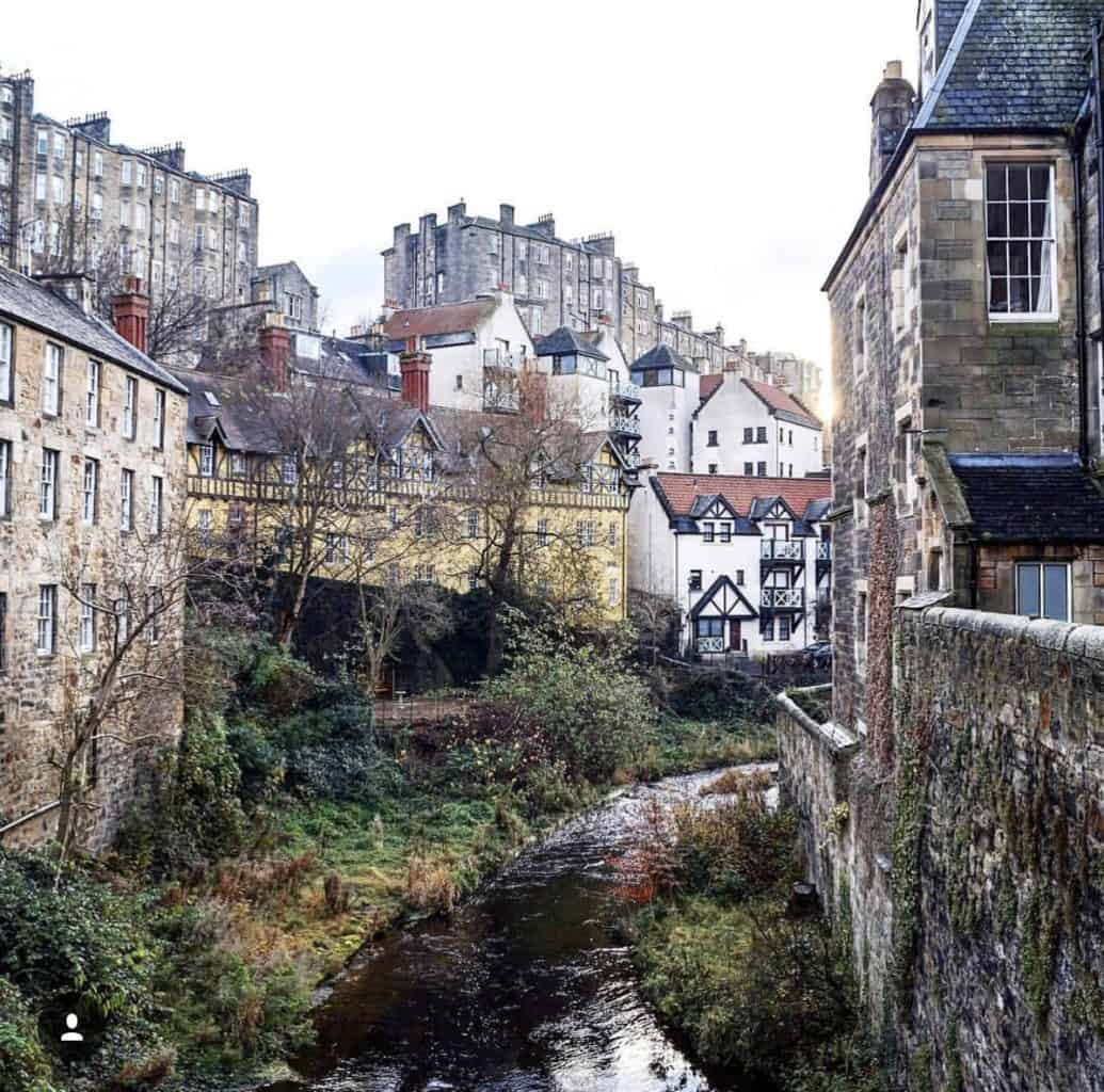 Dean Village Non-touristy Edinburgh: 7 off-beaten path spots that are a must
