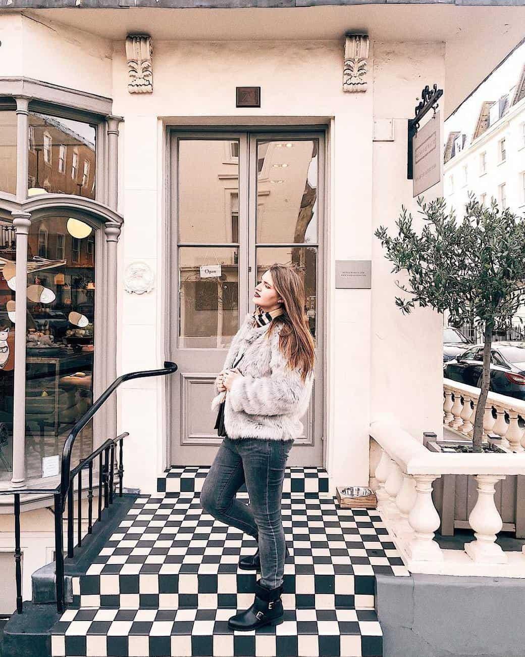 Belgravia in London