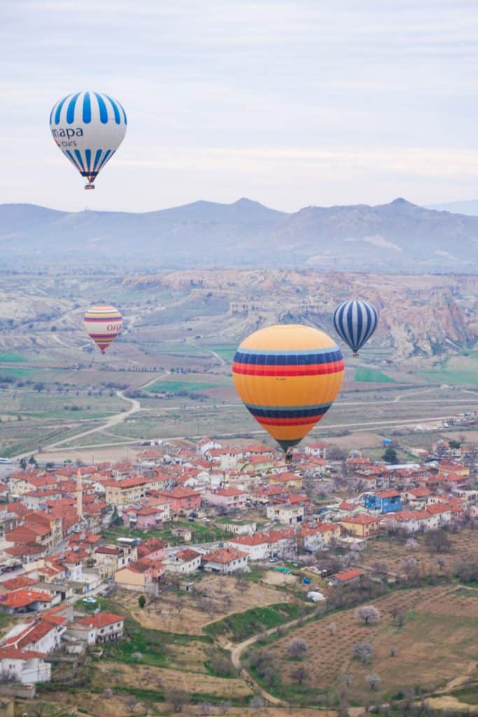 A guide to flying in a hot air balloon in Cappadocia: all you need to know