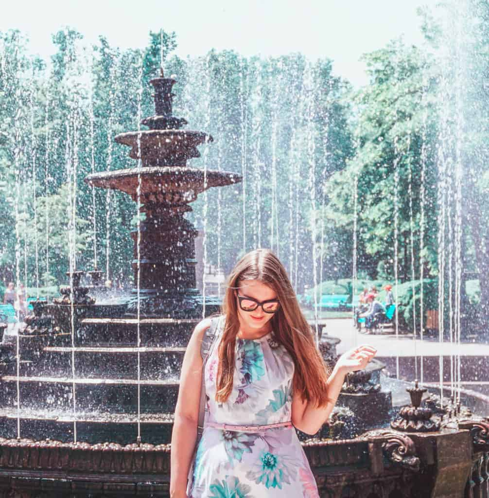 Weekend in Chisinau [or Kishinev], the capital of Moldova