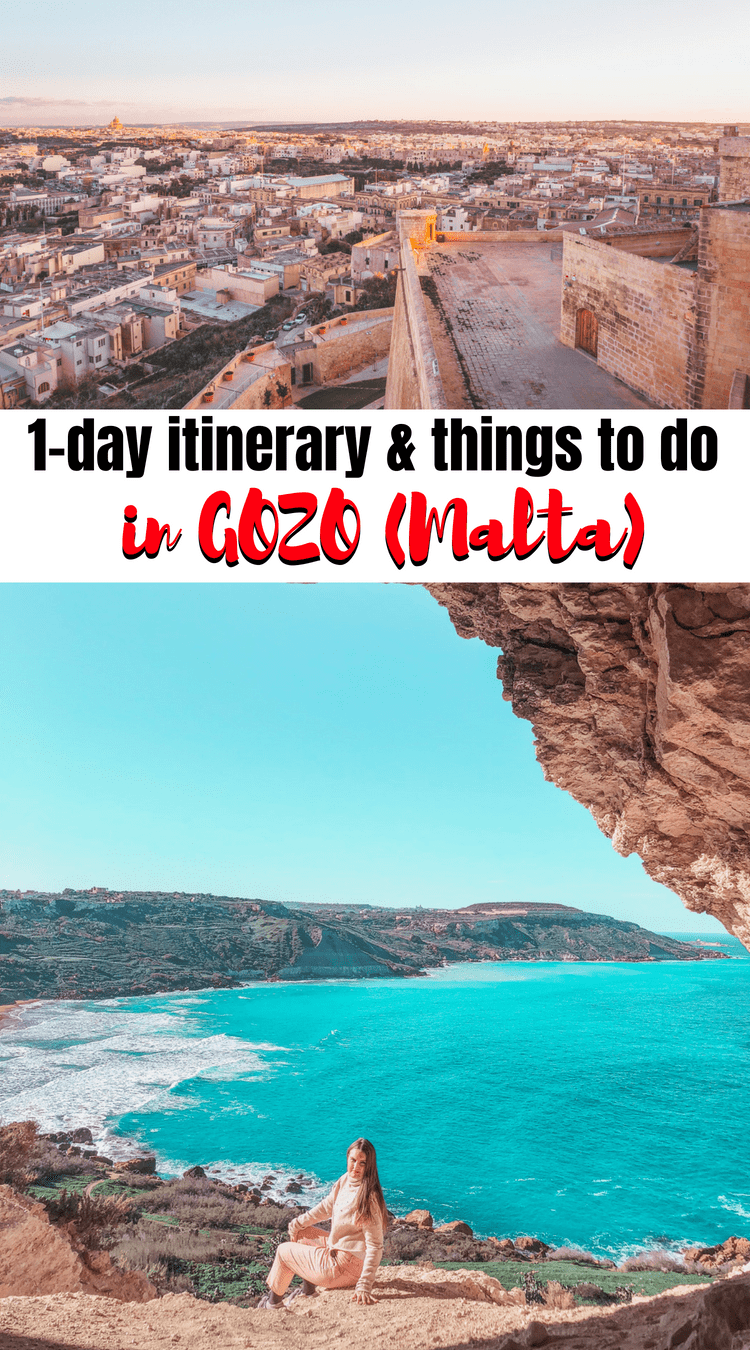 A day trip from Malta to Gozo: things to do in Gozo & itinerary