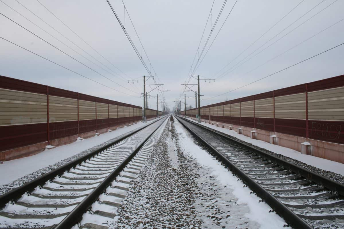 Moscow to St. Petersburg high-speed train