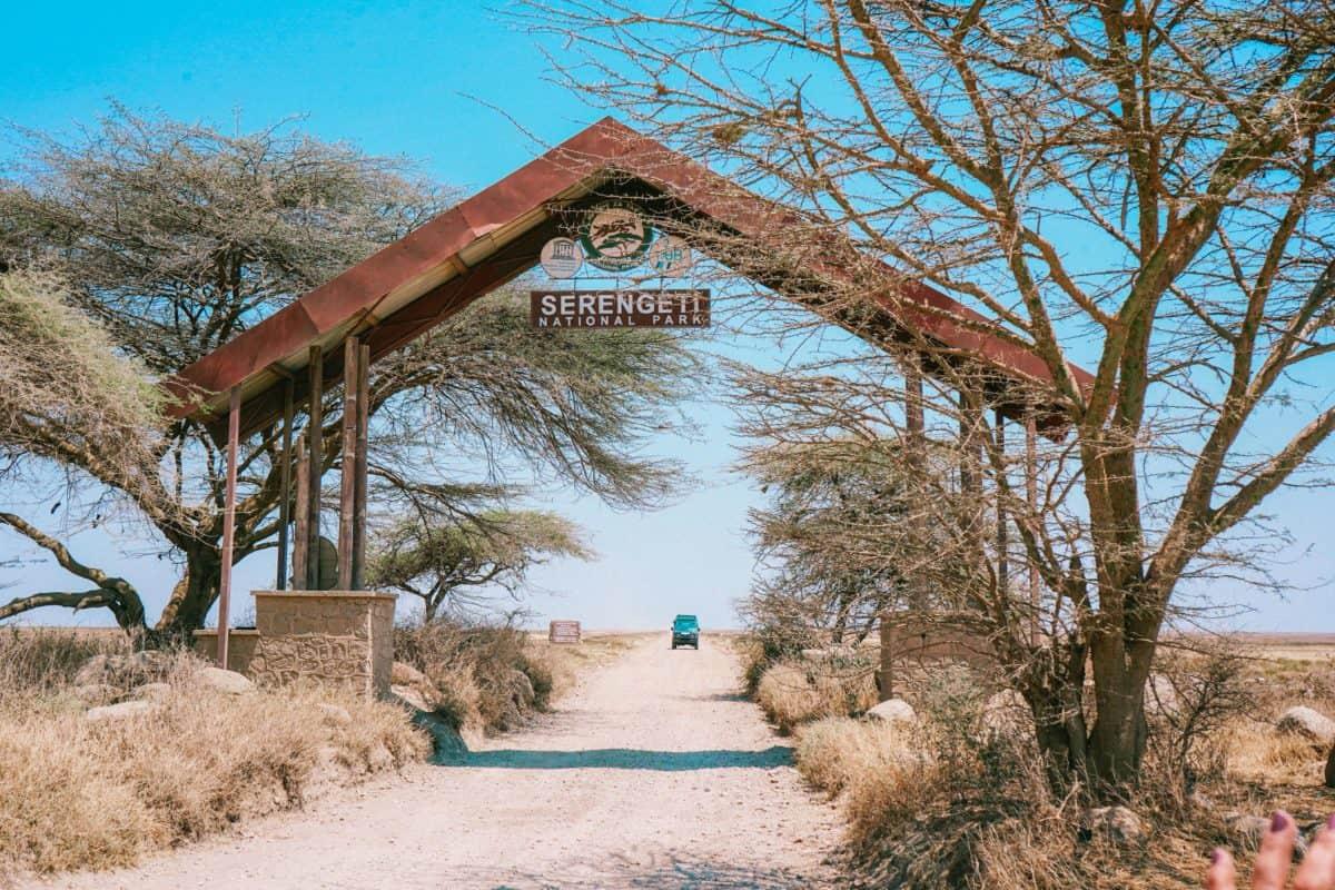 Entrance to Serengeti