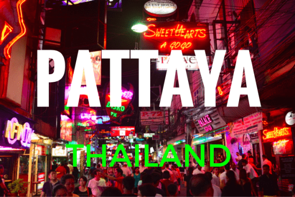 Holiday in Pattaya, Thailand