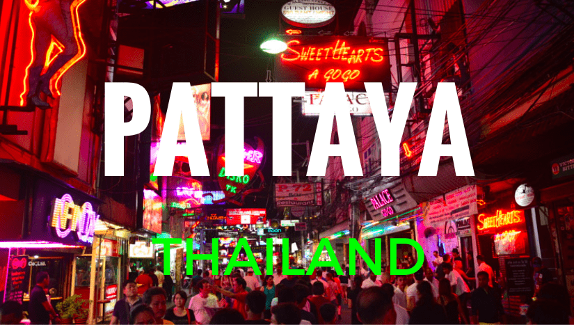 Holiday in Pattaya, Thailand