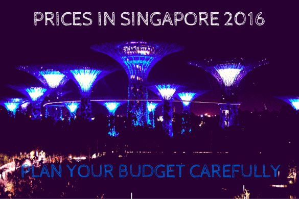 Prices in Singapore