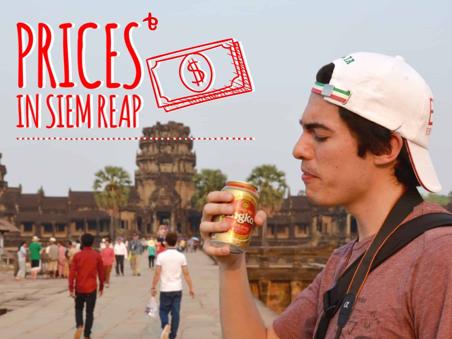 prices in Siem Reap