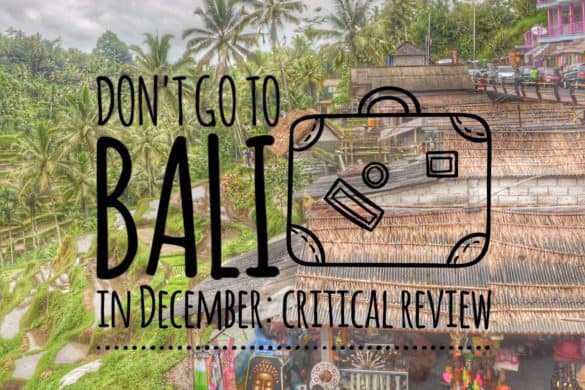 Bali in December: Bali for Christmas