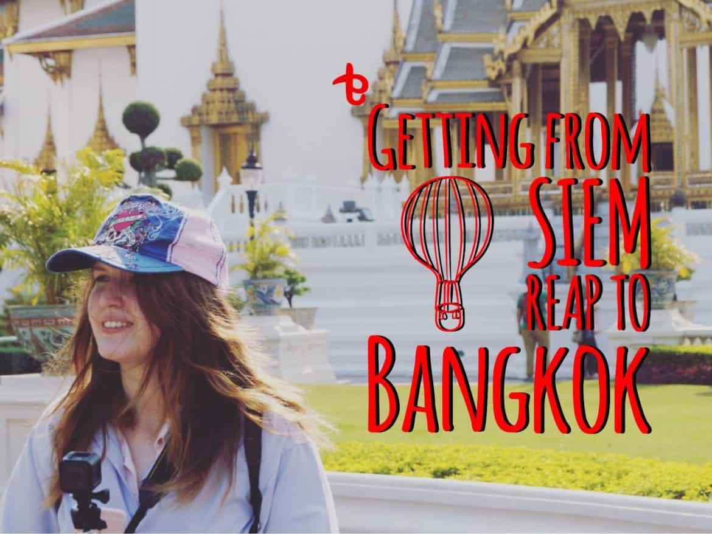 Bangkok To Siem Reap Train Travel Time