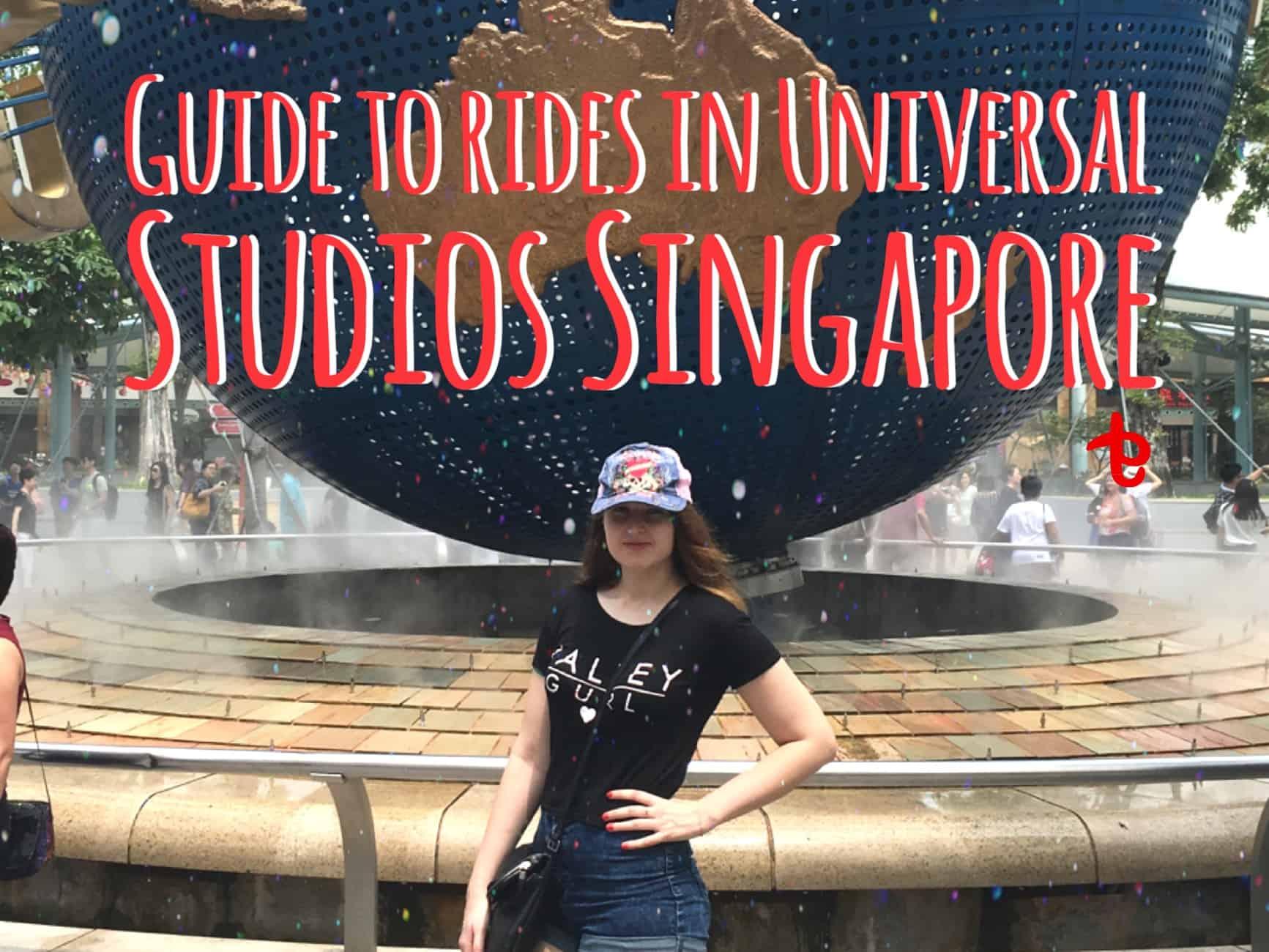 rides in Universal Studios Singapore
