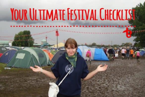 Your ultimate festival packing checklist
