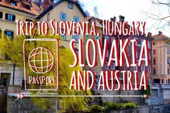 Slovenia, Hungary, Slovakia and Austria