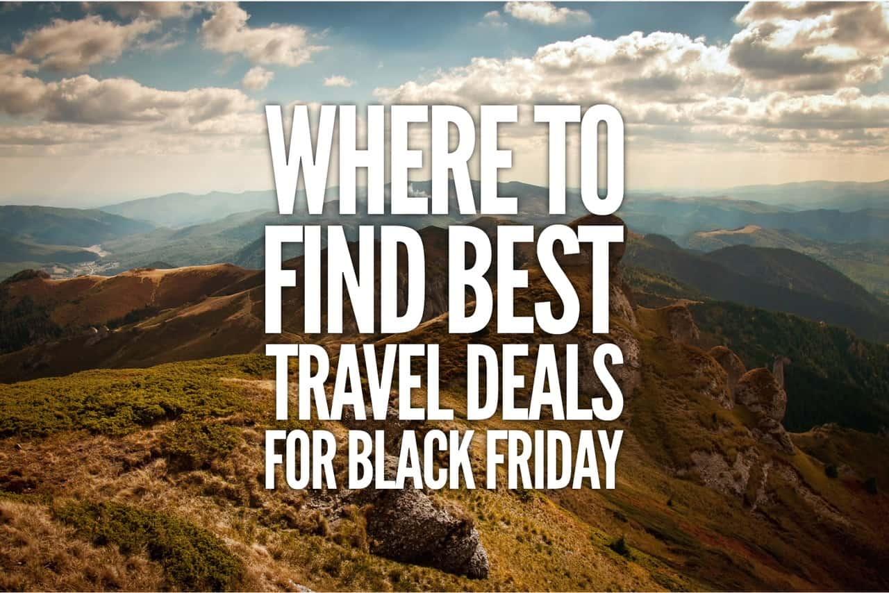 Best black friday travel deals 2017