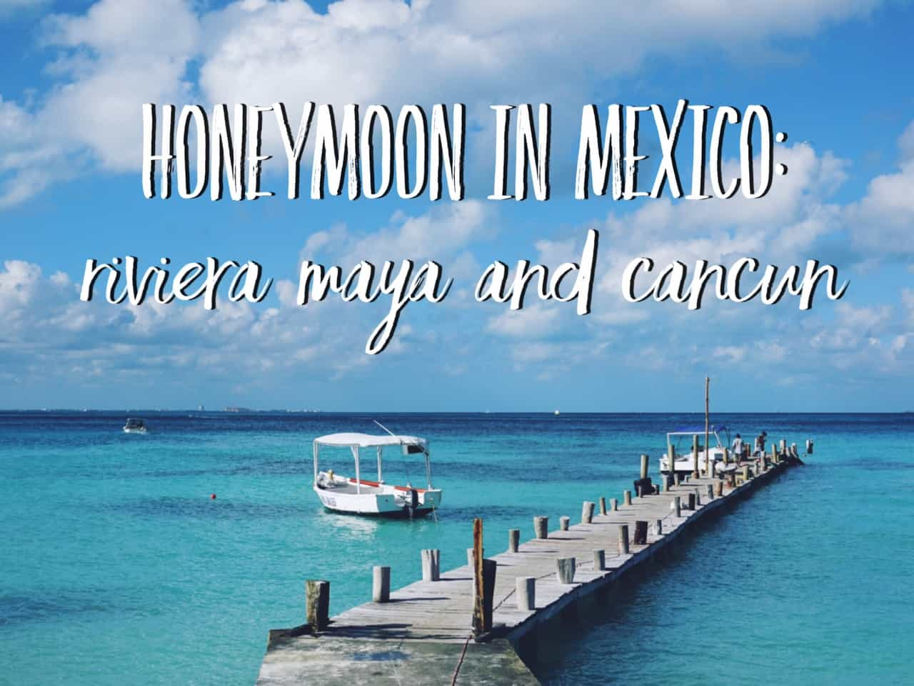 We have some lovely news for you: we got married! The wedding took place in Mexico on the 29th of December and later we went to celebrate our honeymoon in Mexico: in Riviera Maya and Cancun.