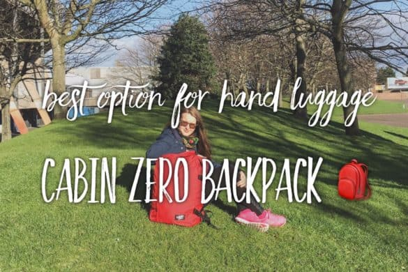 Great choice for backpackers and those who travel on the light - Cabin Zero backpack