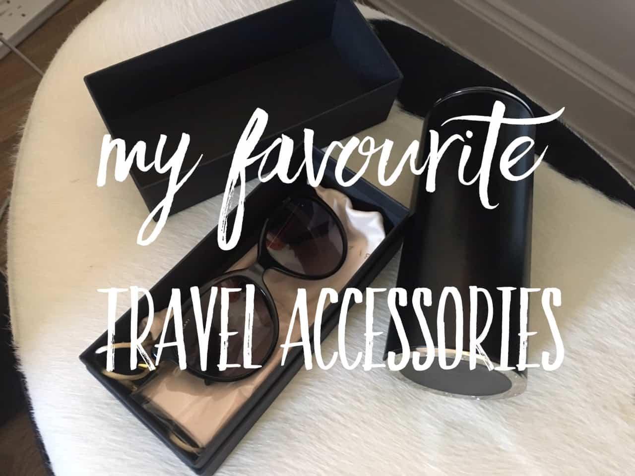 travel accessories and essentials