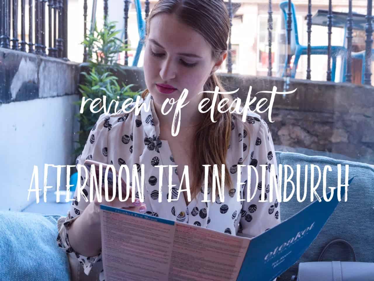 Afternoon Tea in Edinburgh - Eteaket Tea Room