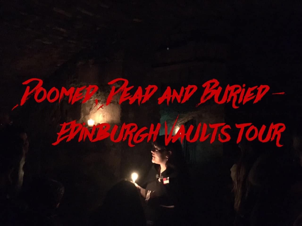 Edinburgh Vaults Tour with Mercat - the best tour in Edinburgh
