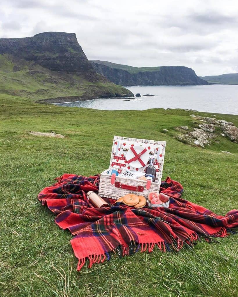 Isle of Skye picnic