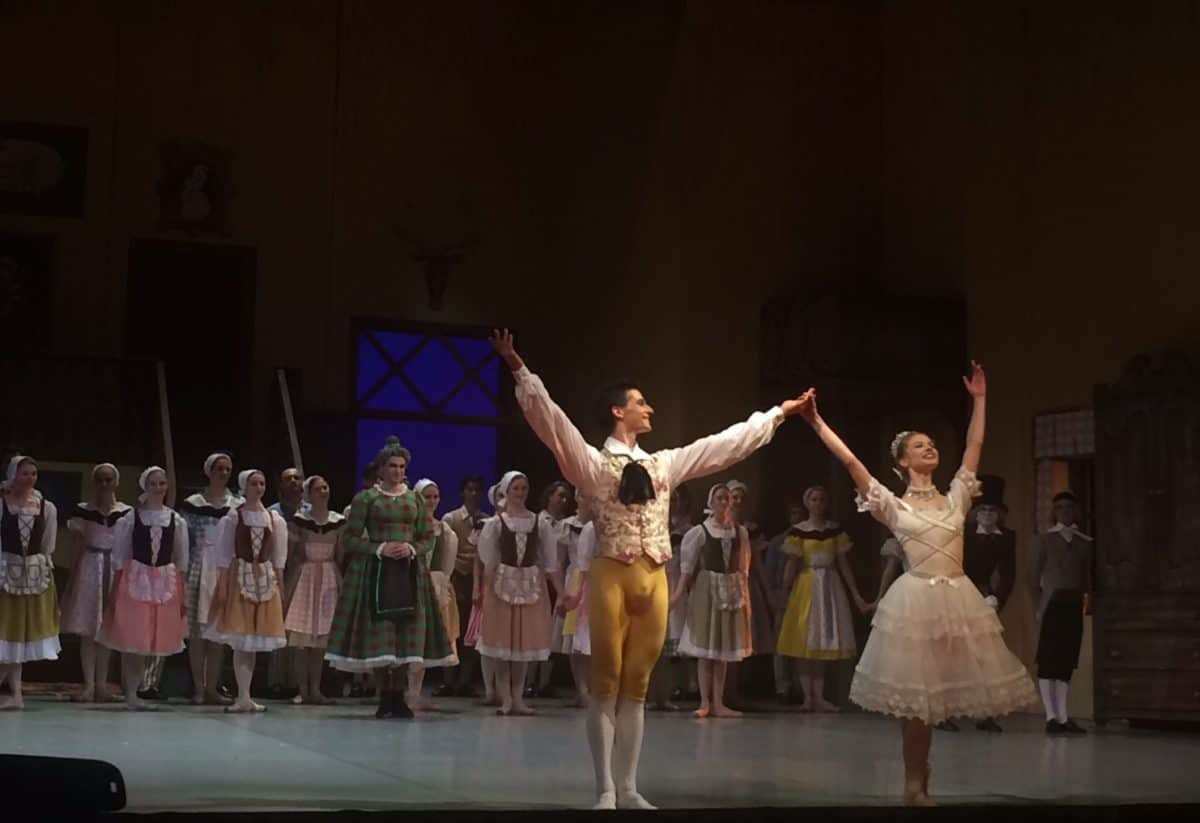St. Petersburg ballet - where to see ballet in Russia - Mikhailovsky Theatre