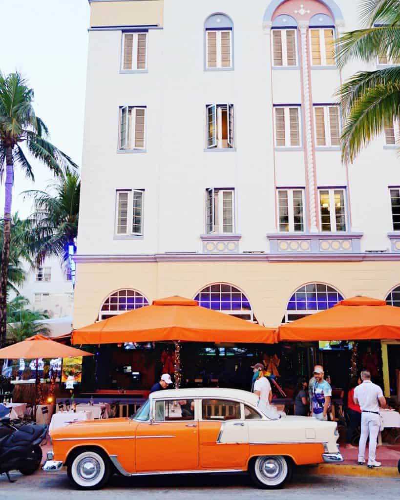 Artdeco Buildings in the South Beach