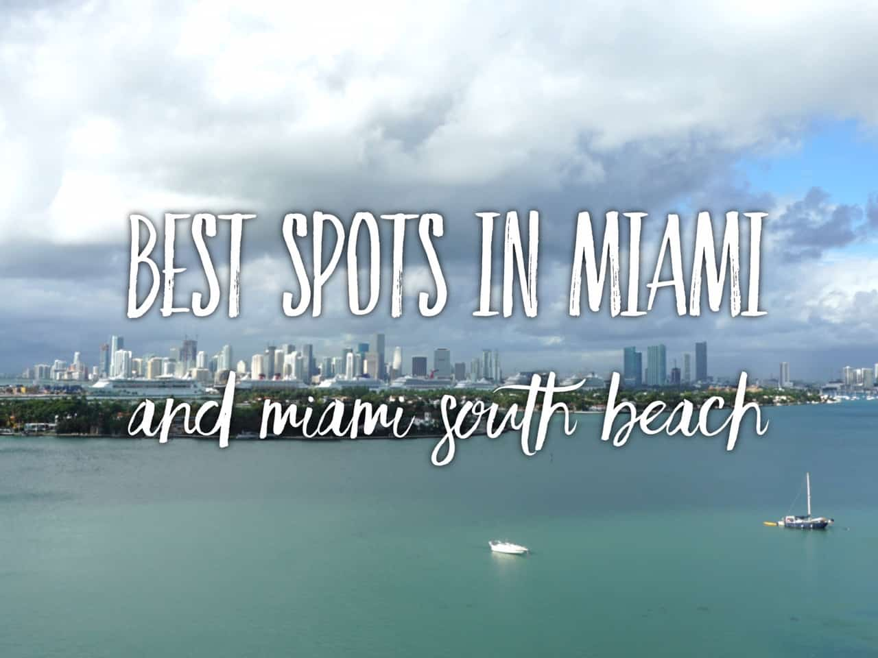 Best Lunch Spots South Beach Miami