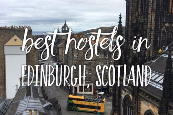 10 best hostels in Edinburgh City Centre, Scotland.