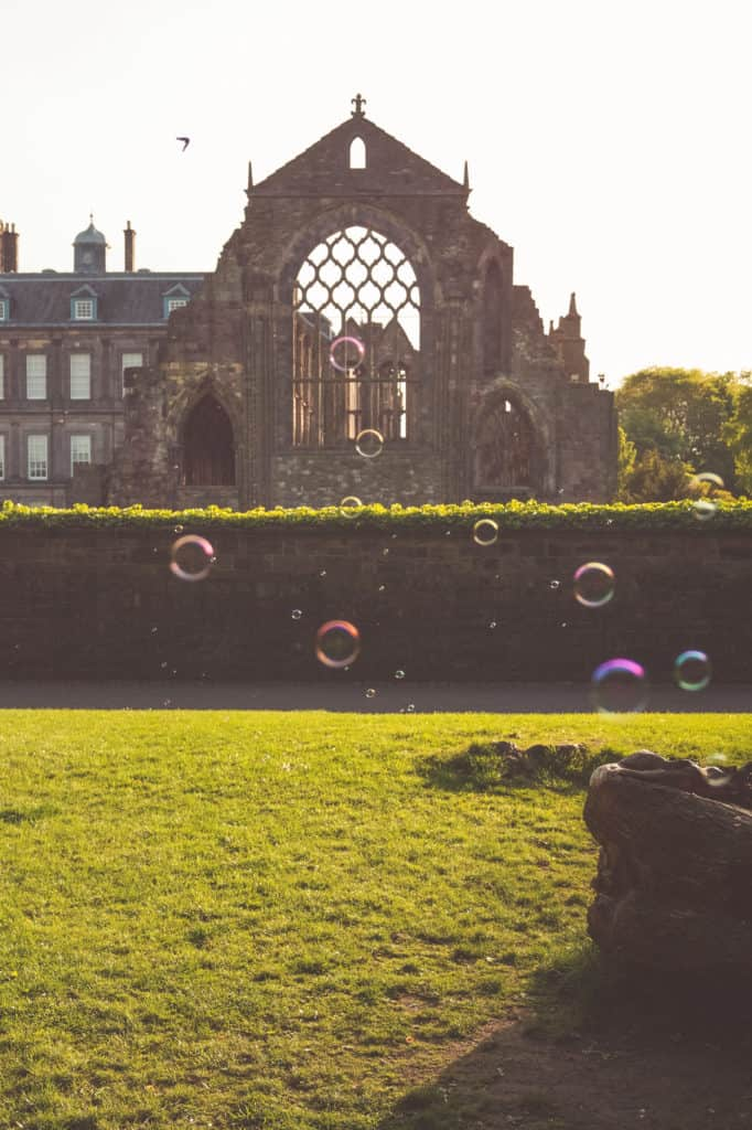 Edinburgh travel tips - Holyrood abbey