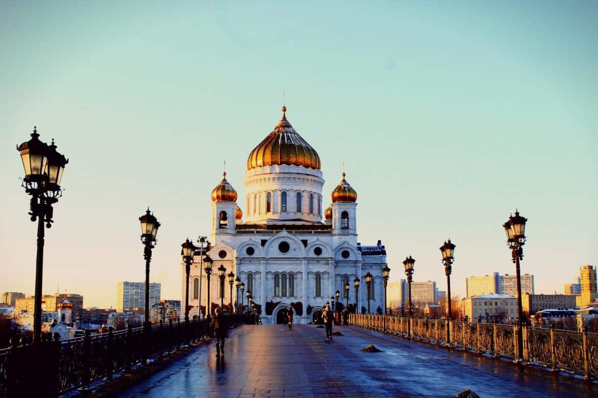 Moscow the capital of Russia, Fifa 2018