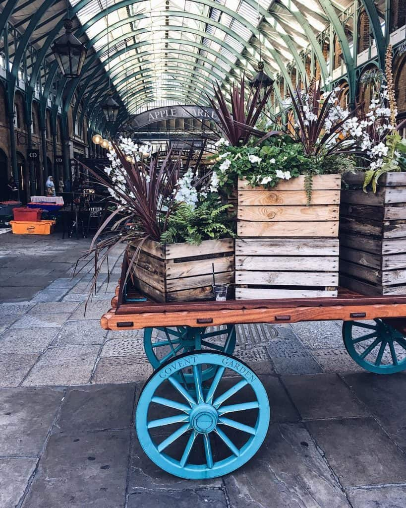 Instagrammable locations in Central London