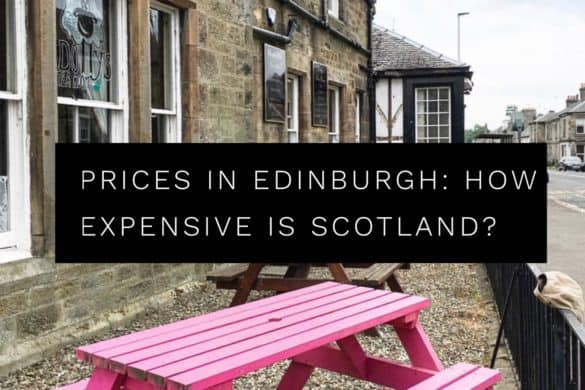 Edinburgh prices. Guide to prices in Edinburgh, Scotland