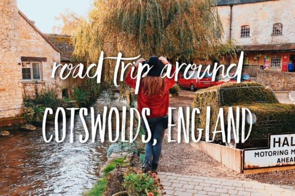 Road trip around Cotswolds. 1-day Cotswolds Itinerary