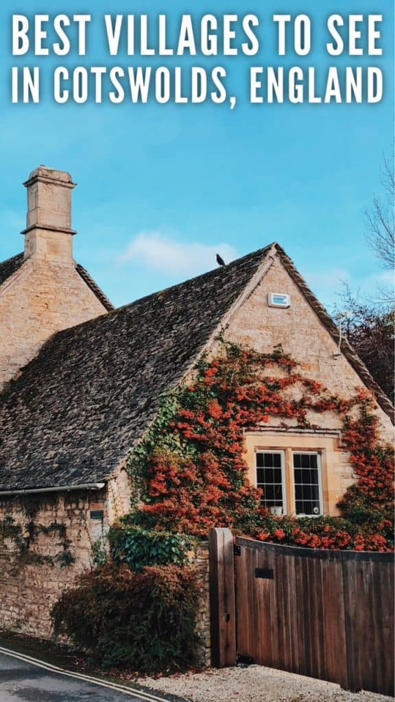 Road trip around Cotswolds. 1-day Cotswolds Itinerary. Best villages to see in Cotswolds