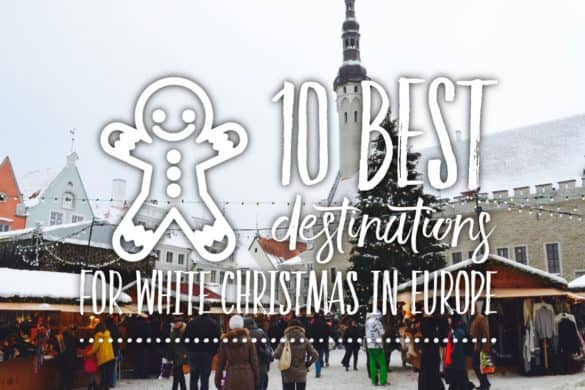 10 best destinations for white Christmas in Europe