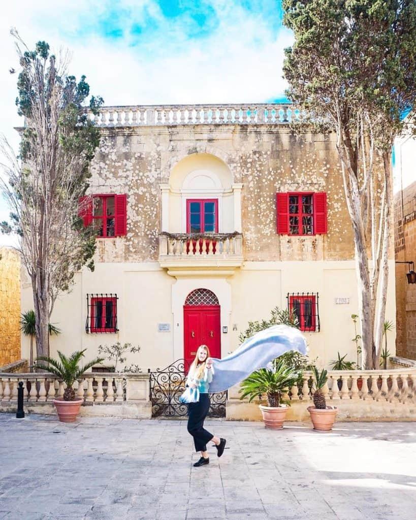 Mdina, Malta, most instagrammable places in Malta