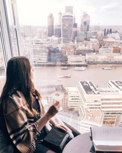 Most instagrammable places in London - The Shard