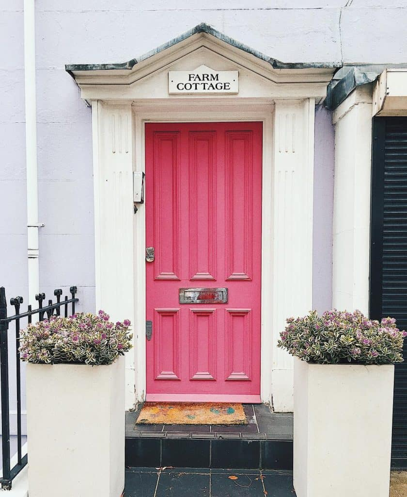 Notting Hill London's prettiest streets and mews - most beautiful streets in London