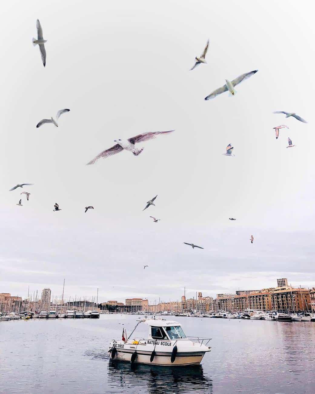 Rainy Marseille