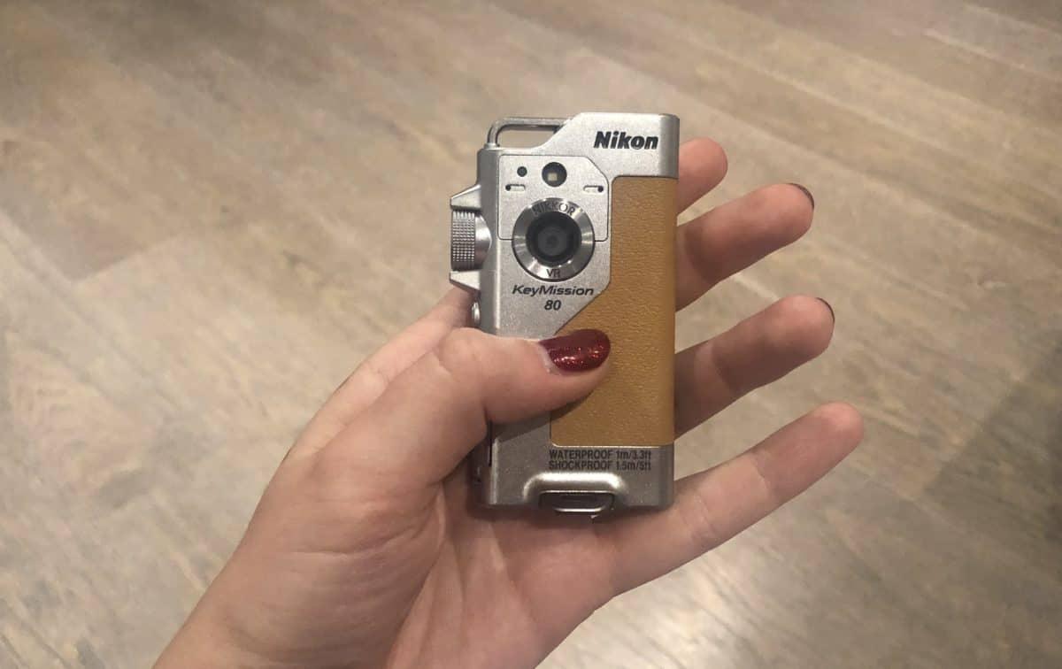 Nikon Keymission 80 Travel blogger camera