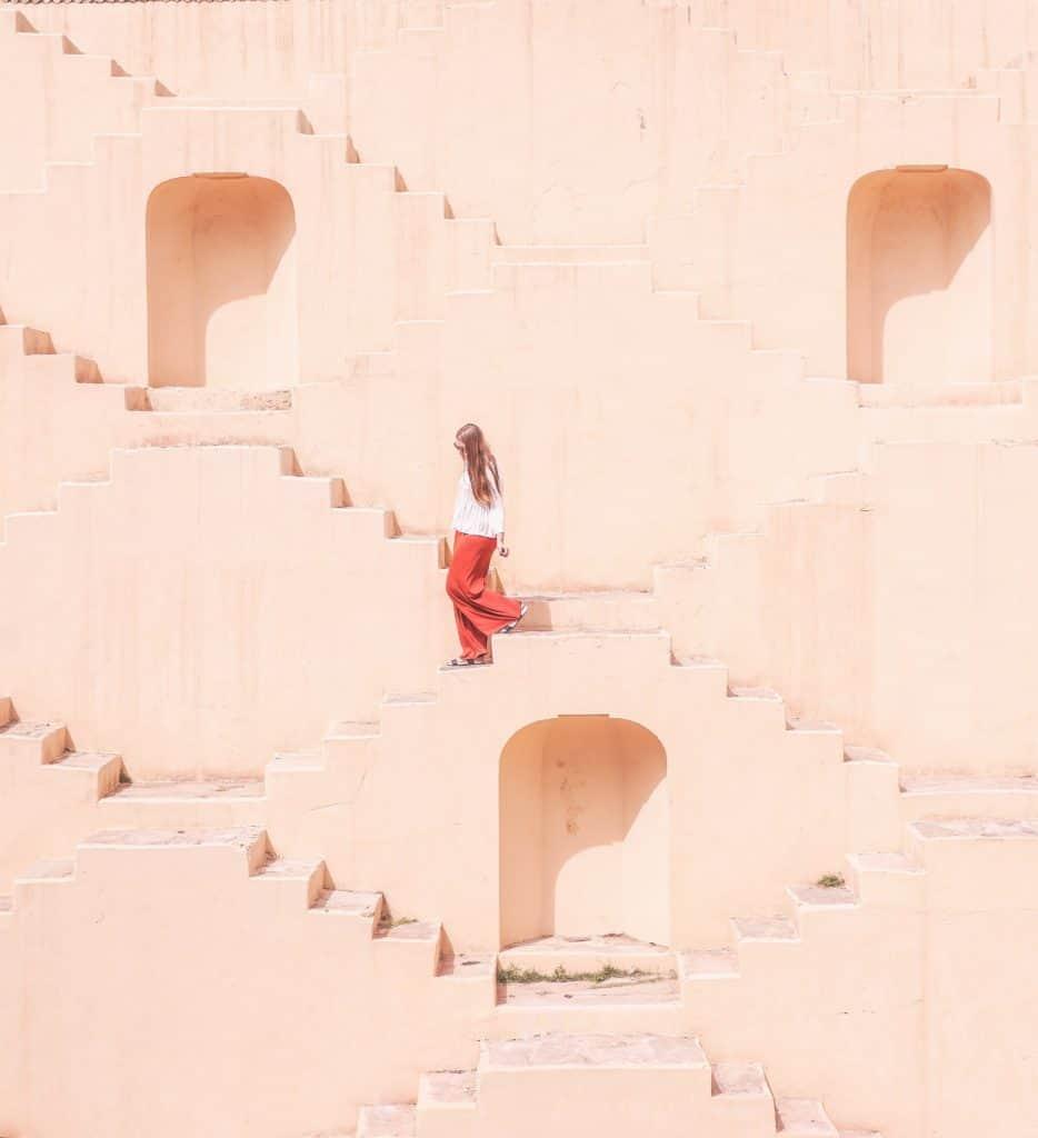 Jaipur stairwell
