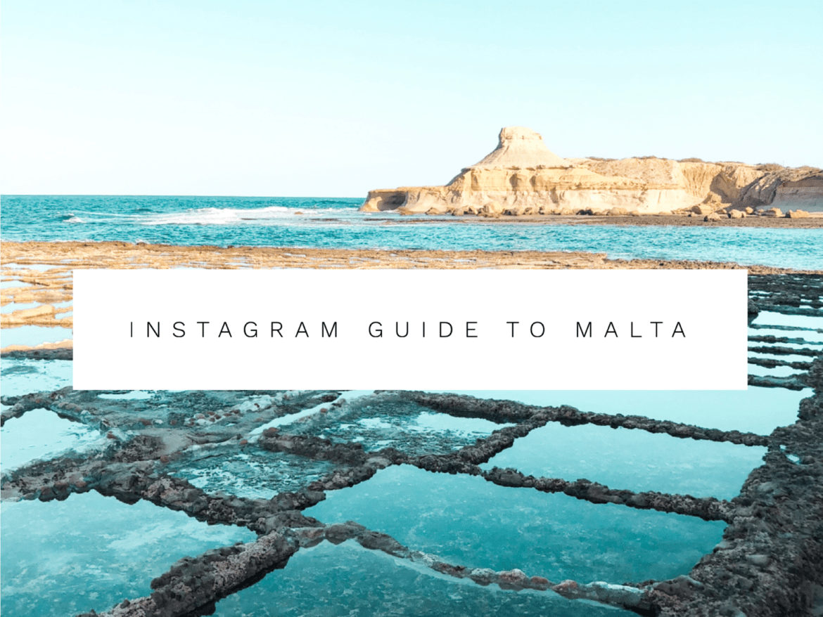 Most instagrammable places in Malta & Gozo. Instagram guide to Malta