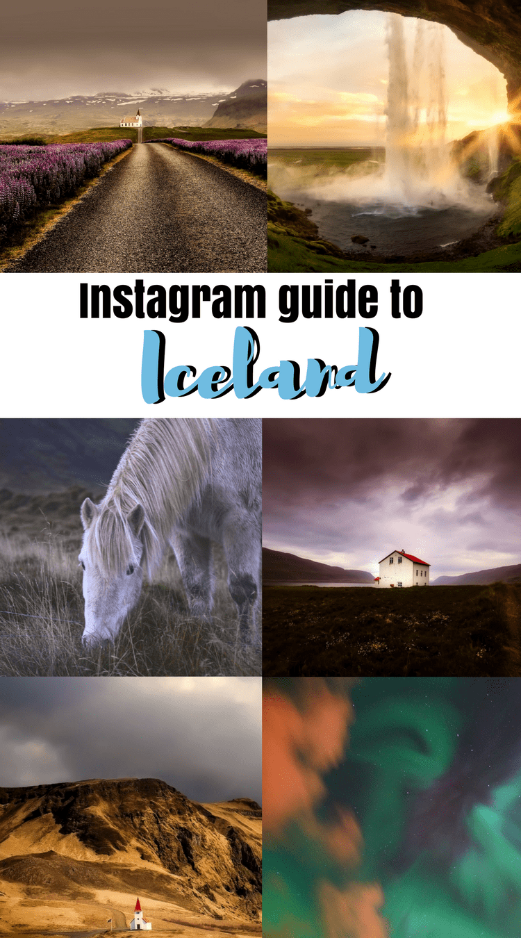 Most Instagrammable spots in Iceland: Blue Lagoon, Gullfoss, Geysir #Iceland