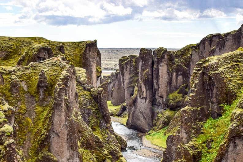 Fjaðrárgljúfur Iceland