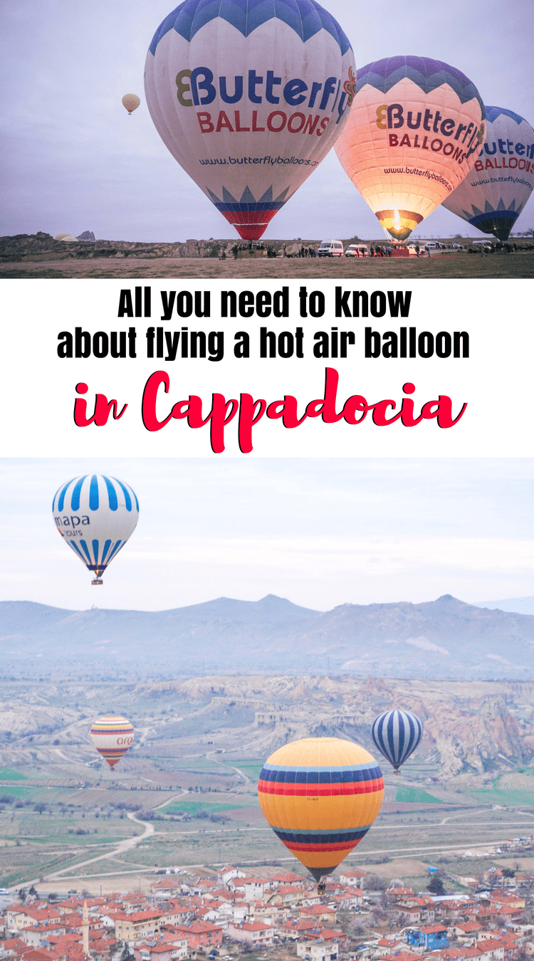 A guide to flying in a hot air balloon in Cappadocia, Turkey: all you need to know