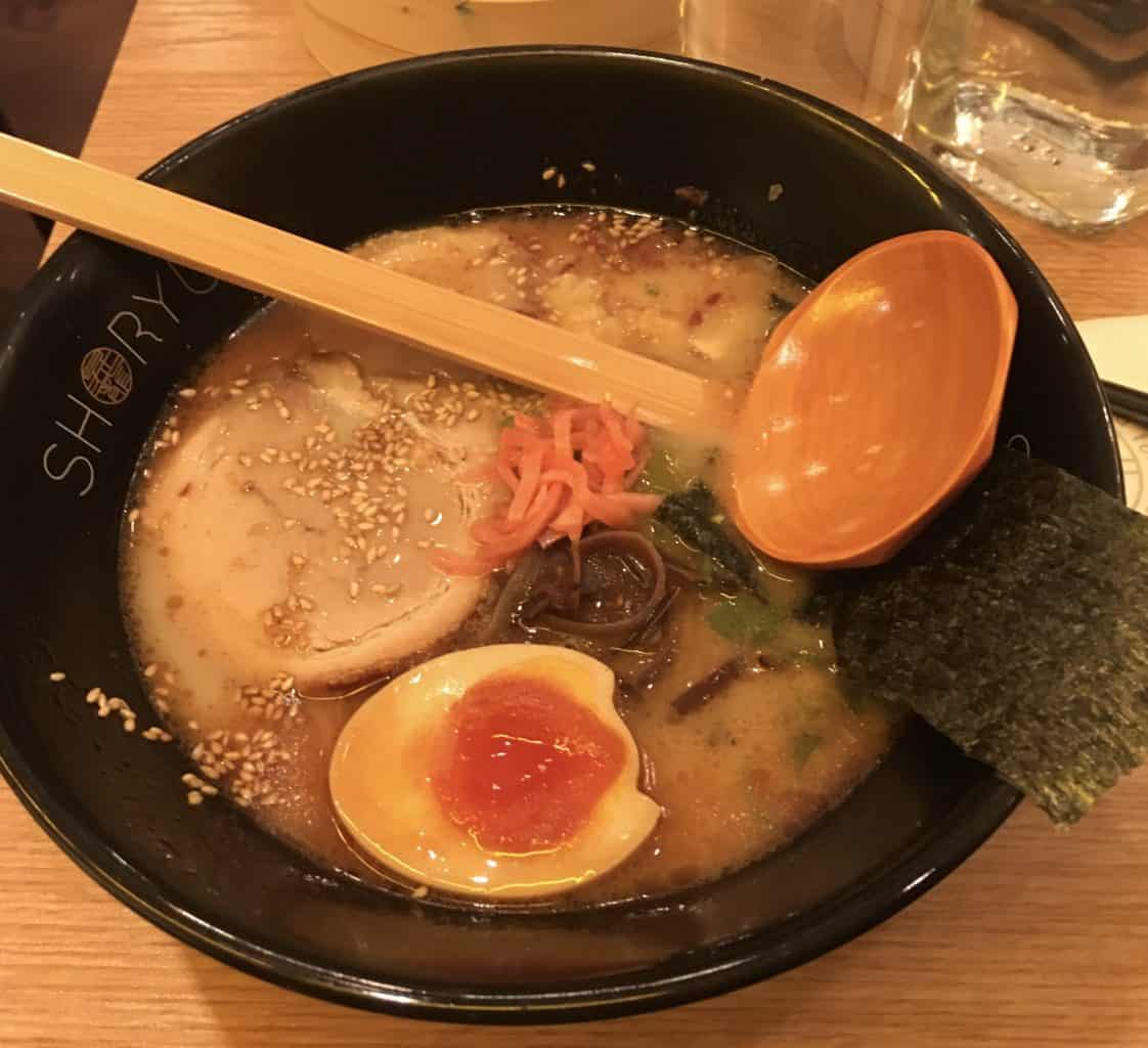 Shoryu Ramen in London - best tonkotsu in London