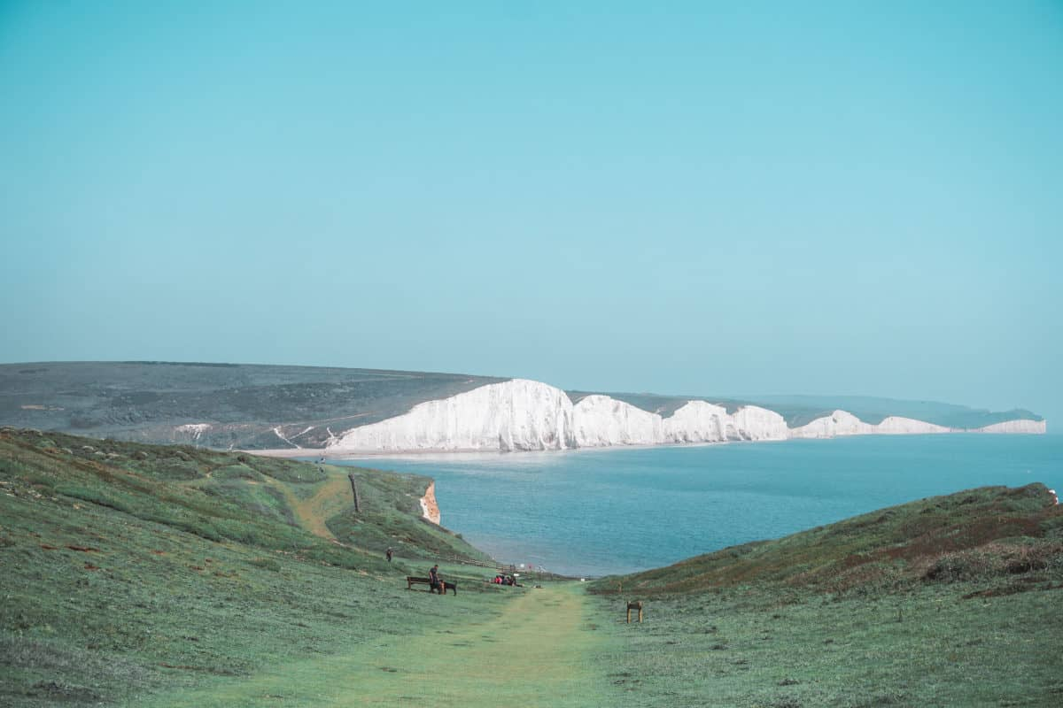 From Seaford to Eastbourne via Seven Sisters: best day hike near London