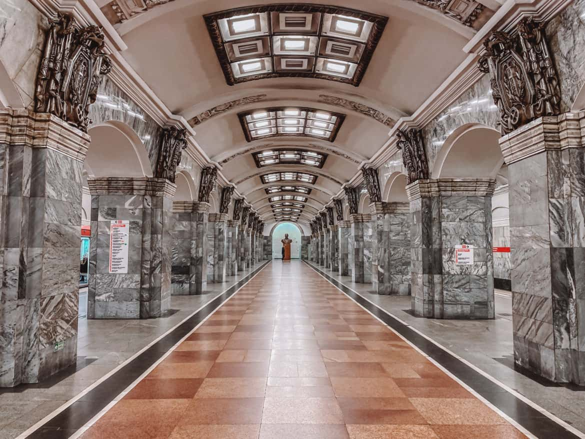 Kirovsky Zavod - Most beautiful St. Petersburg metro stations