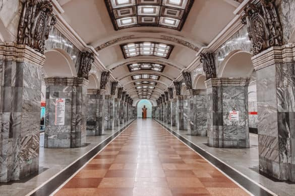 Kirovsky Zavod - Most beautiful St. Petersburg metro stations